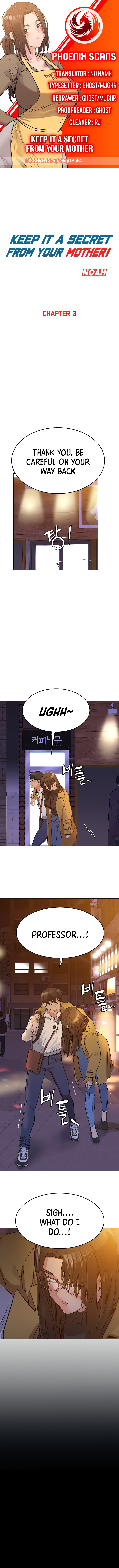 Keep it a secret from your mother Chapter 3 - Manhwa18.com